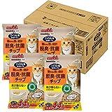 ニャンとも清潔トイレ 猫砂 脱臭・抗菌チップ 大容量 大きめの粒4.4L×4個 (ケース販売)