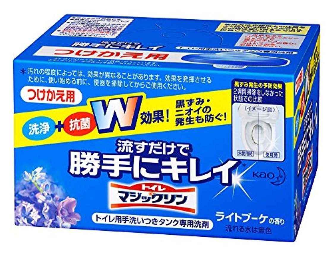 腐った送ったオリエントトイレマジックリン トイレ用洗剤 流すだけで勝手にキレイ ブーケの香り 付替用 80g