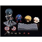 Good Smile Company Avengers: Nendoroid Captain America: Endgame Edition DX Ver, Multicolor (G90947)
