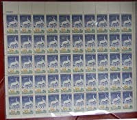 Whooping Cranes/Wildlife Conservation Sheet of 50 x 3 Cent Stamps Scott 1098 By USPS by USPS