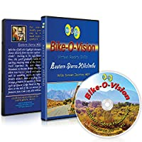 Bike-O-Vision - Virtual Cycling Adventure - Eastern Sierra Hillclimbs - Perfect for Indoor Cycling and Treadmill