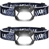 LED Headlamp Flashlights, Super Bright Head Lamps with Red Lights and 6 Modes, Compact and Lightweight, Perfect for Adults an