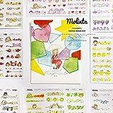 ステッカー シール かわいい カラフル 人物 生活 molinta デザイン
