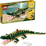 LEGO 31121 Creator 3in1 Crocodile to Snake or Frog Wild Animal Toys for Kids with Small Animals Figures