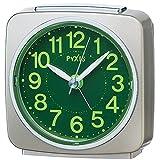 SEIKO CLOCK (セイコークロック) 目覚まし時計 アナログ 集光樹脂文字板 PYXIS (ピクシス) 薄金パール NR440G