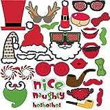 フォトプロップス クリスマス 28点セット 撮影 写真 小道具 クリスマス 飾り (28pcs)