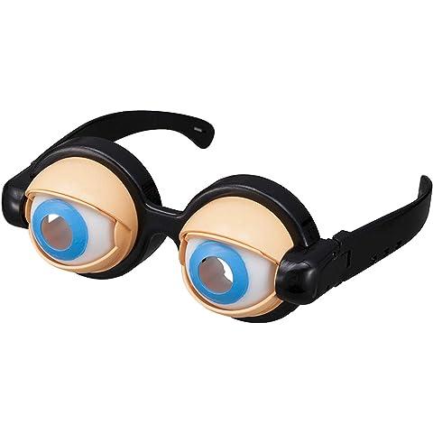 クレイジーアイズ 面白いメガネ おかしいパーティーメガネ おもしろグッズ(箱入り)