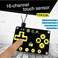 KEYESTUDIO TTP229 16 Key Arduino用キー容量性タッチセンサーモジュール
