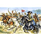 イタレリ 6011 1/72 連合騎兵隊/南軍 米南北戦争