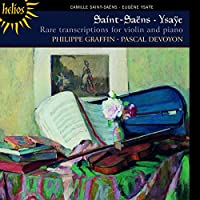 Rare Violin Transcriptions-Works By Saint-Saens &