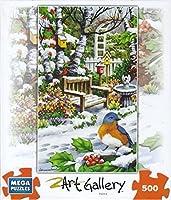 Birds' Winter Haven 500 Piece Puzzle by Mega Brands
