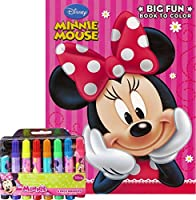 Minnie Mouse Colouring Book with Markers