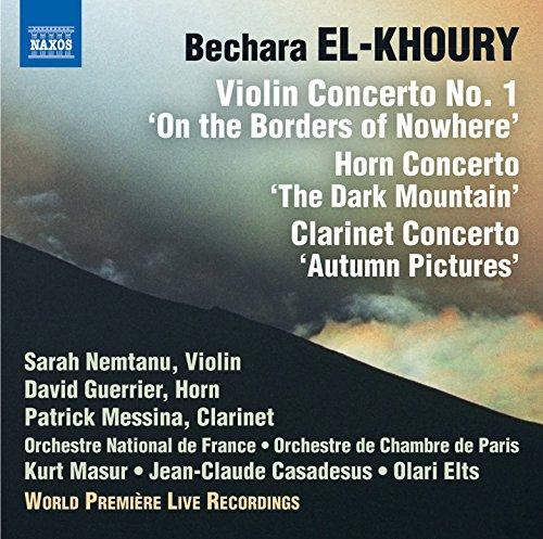 El-Khoury: Concerti for Violin, Horn & Clarinet (Live)