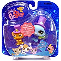 Hasbro Littlest Pet Shop: Pairs And Portables - Rat And Peacock