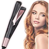 Professional Hair Straightener 2 in 1 Curling Iron Tourmaline Ceramic Twisted Flat Iron Fast Heating-up Adjustable Temp with
