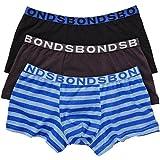 Bonds Boys 3 Pack Pair Underwear Boyleg Trunks Undies Boxer Shorts All Size 2-16