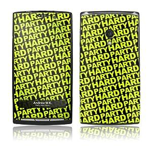 Music Skins Sony Ericsson Xperia 用フィルム  Andrew WK - Party Hard Neon  Sony Ericsson Xperia   MSXPERIA0221