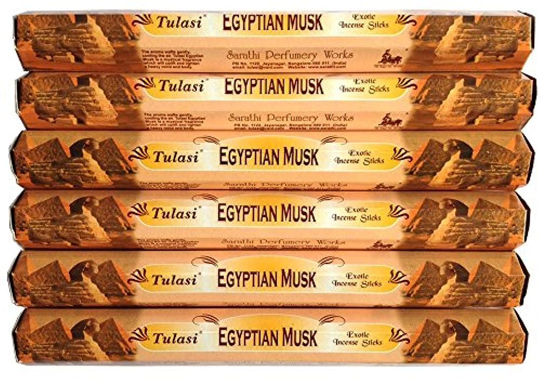 叙情的な遊びます口頭トゥラシ エジプシャンムスク 6個セット