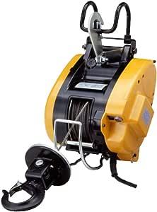 リョービ(RYOBI) ウインチ WIM-125A 130kg (ワイヤー径5mm×21m付)