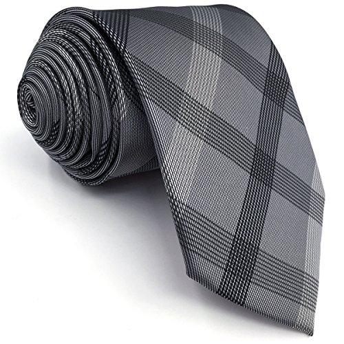 (シッラクスとウイング)Shlax&Wing 新品全17メンズロングネクタイビジネスシルク紳士用ネクタイウォッシャブル160CM グレーブラウンブルーストライプドット