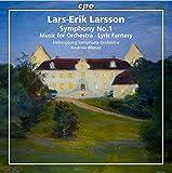 ラーシュ=エリク・ラーション:管弦楽作品集 第1集(Lars-Erik Larsson: Symphony No.1 )[SACD-Hybrid] 画像