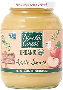 オーガニック アップルソース 瓶タイプ (有機 化学調味料無添加 砂糖不使用 100%天然 ノースコースト)