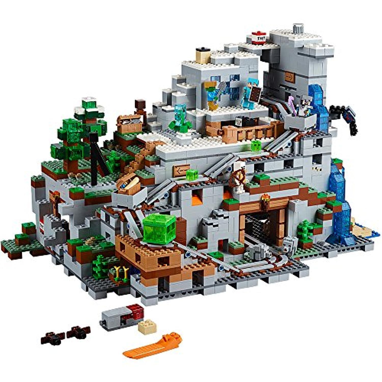LEGO レゴ マインクラフトMinecraft ザ?マウンテン洞窟 The Mountain Cave Set 21137 2017年新商品 【並行輸入品】