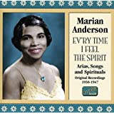 アリア・歌曲・黒人霊歌集「精霊を感じるたびに」(1930-1947)(Marian Anderson Vol.2)