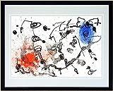 ジョアン・ミロ『無題・m0098』リトグラフ・抽象画・【版画・絵画】【A106】