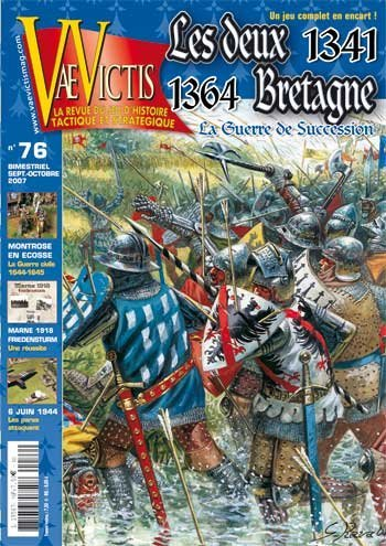 VV: Vae Victis Magazine #76, with Les Deus 1341, Bretagne 1364 Board Game [French Language Content] by Vae Victis Magazine (French) [並行輸入品]