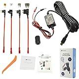 Dash Cam Hardwire Kit, Meknic 11.5FT Mini USB Hard Wire Kit Fuse for Car Dash Camera,12V-30V to 5V 2A Hardwire Dash Cam Kit w