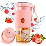 Woolili Portable Blender Smoothie Blender Protein Shaker USB Rechargeable, Juice Extractor for Milkshake and Smoothie, Perfec