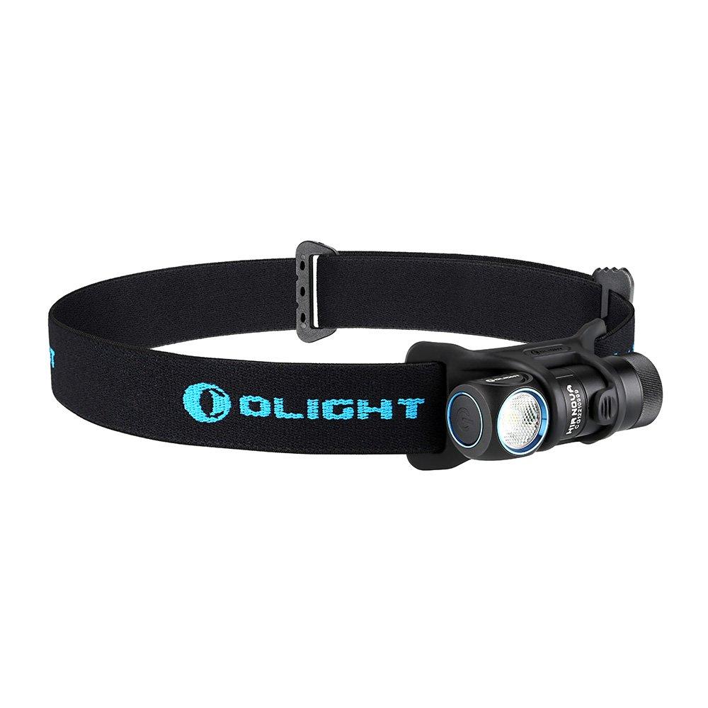 Olight H1R NOVA // 防水2M IPX8 LED懐中電灯 // LED搭載LED 最大600ルーメンCree LEDライト RCR123A付き// 5段階切替 x RCR123A ポケットクリップ付き 小型軽量 フラッシュライト マグネット式充電ケーブル付き ヘッドランプ付き 多機能充電式LEDヘッドライト 電池650mAh ハンディライト電池1 XM-L2