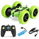 FomaTrade Remote Control Stunt Car Rc 4WD Off Road Rechargeable 2.4Ghz 3D Deformation Racing Car,Double Sided Rotating Tumbli