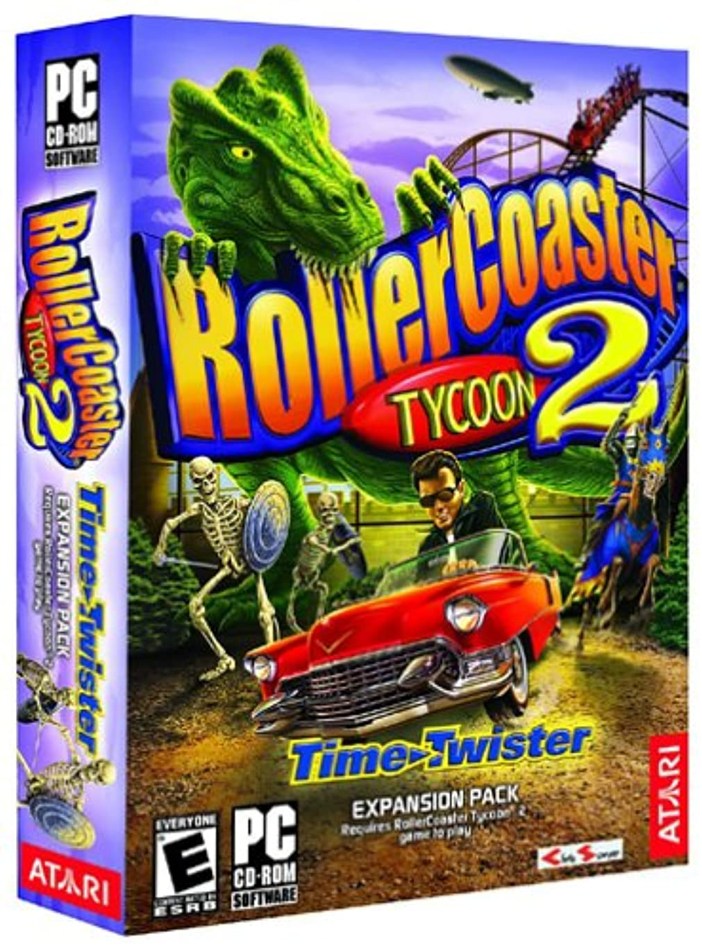 音楽家排除ティーンエイジャーROLLER COASTER TYCOON 2: TIME TWISTER EX