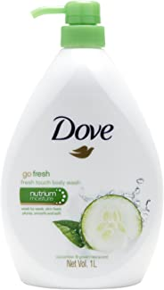 Dove Fresh Touch Cucumber and Green Tea Body Wash, 1L