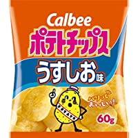 カルビー ポテトチップス うすしお味 60g × 12袋
