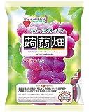 《セット販売》 マンナンライフ 蒟蒻畑 ぶどう味 (25g×12個入)×12個セット こんにゃくゼリー