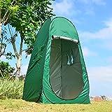Dpower 着替えテント 1人用 設営簡単 パッと開くだけ 片付け10秒 ワンタッチ式 キャンプ 簡易 小型 コンパクト 防災 緊急 母子 公園 紫外線防止 日よけ 更衣室 代わり ワンタッチ 日よけ プライベート ソロ 透けない生地 SY-A07 (ア