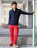 カーゴパンツ メンズ スリム ミリタリー 黒 カーキ ストレート【q946】 スペード画像⑦