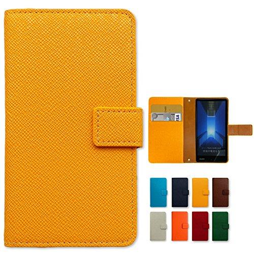 iPhone6s iPhone6 用 大人の型押し 手帳型 ケース カバー 内側ケース:黒TPUiphone6 iphone6s 手帳 iphone6ケース iphone6カバー ノーブランド品 yellow