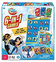 The Wonder Forge DC Super Hero Girls 6-in-1 Game [Floral] [並行輸入品]