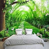 Mingld カスタム3D壁の壁画の壁紙3D自然の風景国の車線の壁紙寝室のリビングルームのソファテレビの背景3Dの家の装飾-200X140Cm