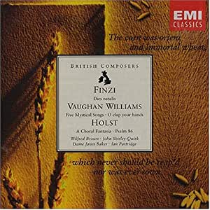 Music by Finzi, Vaughan Williams and Holst