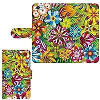 AQUOS SERIE mini SHV31 ☆ ケース・カバー 完全受注生産 完全国内印刷 専用スマホケース 手帳型 花柄 カラフル アクオス フォン ホン ゼータ セリエ スマホカバー オリジナルデザイン プリント 日本製