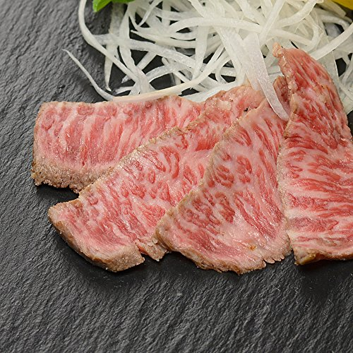 肉料理『うし源』の雅(みやび)レアステーキ 牛たたき風 200g!【冷凍便】