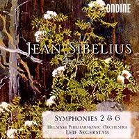 シベリウス:交響曲第2番, 第6番