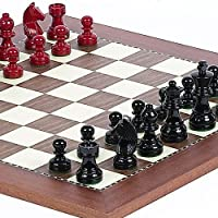 Contemporary Chessmen & Astor Place Chess Board by