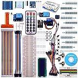 Kuman Raspberry Piに適用 初心者用キット 電子工作 1602液晶ディスプレイ+温度/湿度センサ+BMP180デジタル気圧センサー+HC-SR501赤外線モーションセンサモジュール 子供遊び Raspberry Pi 3 2 model B A A+ + に対応 Raspberry Pi 電子工作入門キット K71