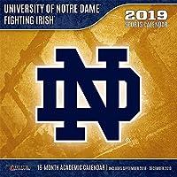 Notre Dame Fighting Irish 2019 Calendar